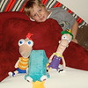 phineas, ferb, perry and quin