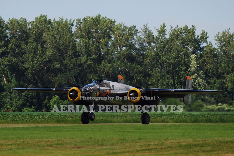 "N2825B - 1940 North American RB-25  ""Miss Hap"""