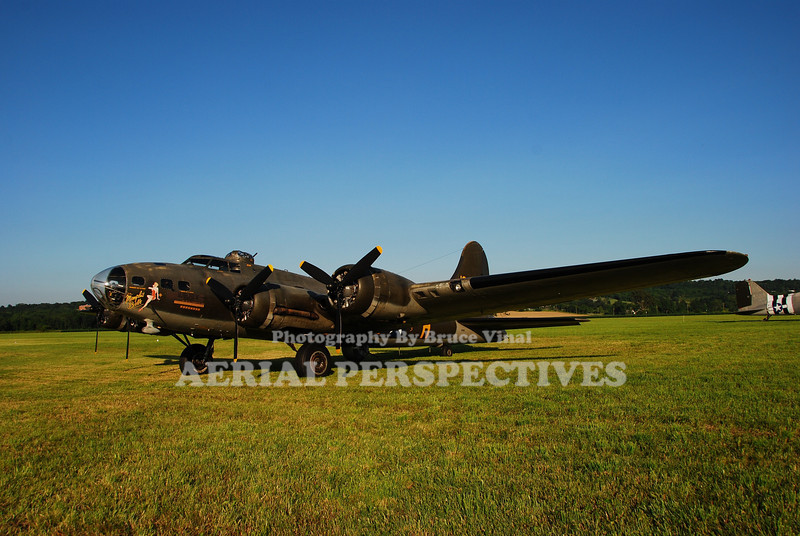 "N3703G - 1945 Boing B-17G ""Memphis Belle"" Movie Version"