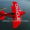 "Sean Tucker in his custom built ""Oracle Challenger"" over Newport R.I."