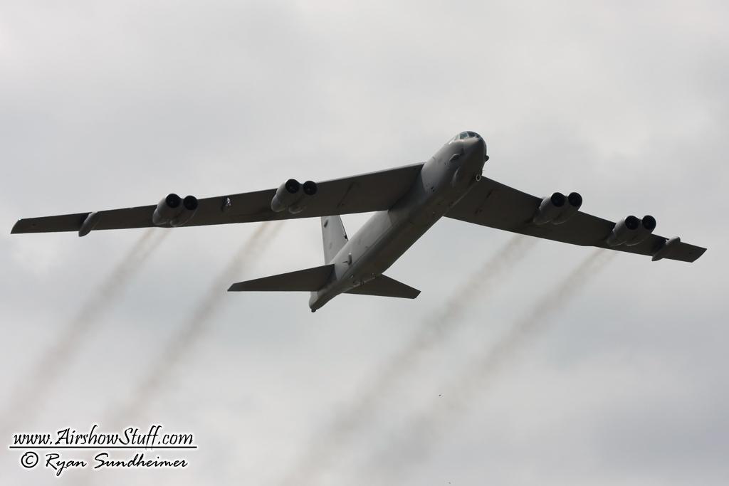 B-52 Stratofortress Flyover