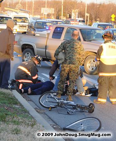12/16/2009 Bicycle Accident on 235