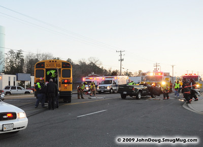 12/16/2009 School Bus & Pickup Truck Accident