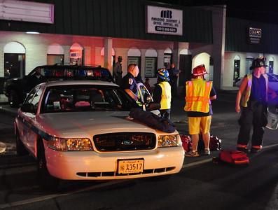 4/11/2009 Drunk Driver Rear Ends Police Car