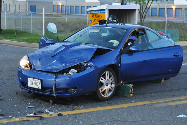 4/23/2009 Great Mills Rd and Prather 2 Car Accident