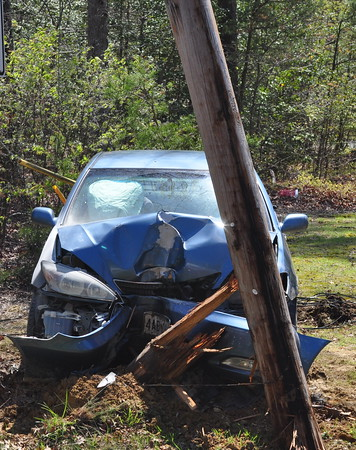 4/23/2009 Single Car into a Pole Rt5 and Whirl Wind
