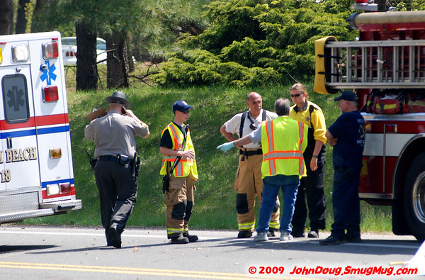 4/25/2009 Fatal Motorcycle in Calvert at Bayside and Breezy Point