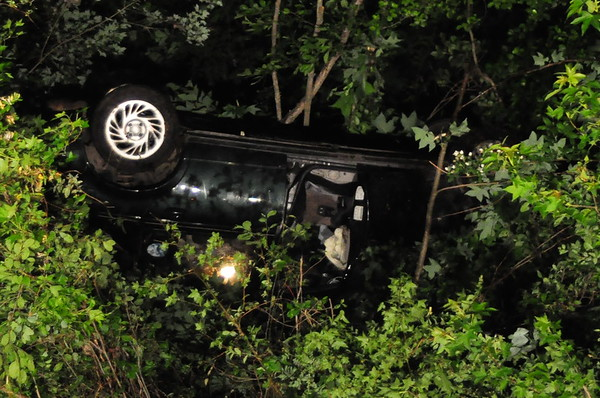 5/23/2009 Single Car into the Woods at Chingleville and 5