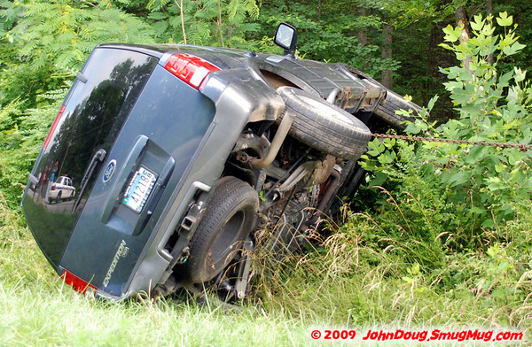 6/16/2009 One on its Side in Redgate