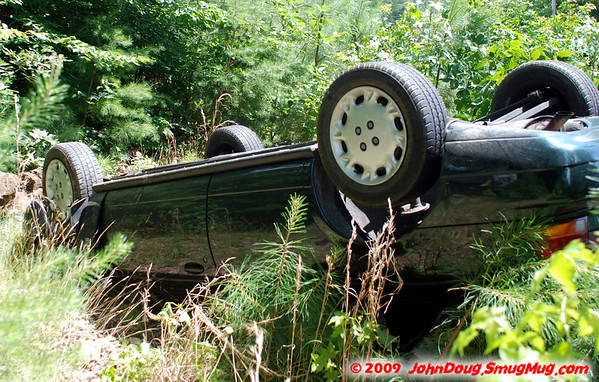6/30/2009 Roll Over on Poplar Ridge Rd with 2 Ejected (Trooper 7)