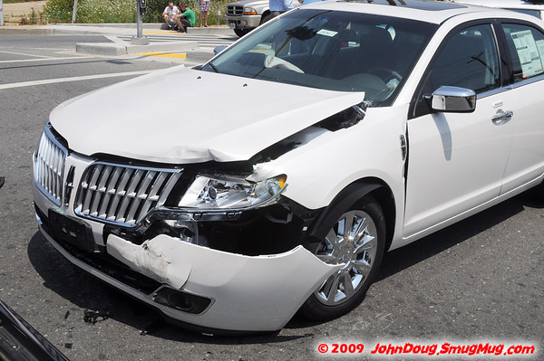 7/25/2009 Two Car Accident Great Mills and Chancellors 2010 New Car