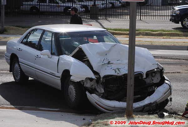 8/14/2009 Head on Accident in Leonardtown with Drunk Driver