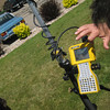 RTK GPS training for RESESS proteges: June 2009