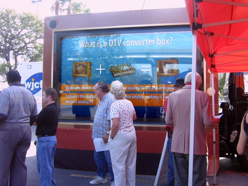 "On December 16, WJCT hosted the National Association of Broadcasters' giant TV ""Trekker"" truck."