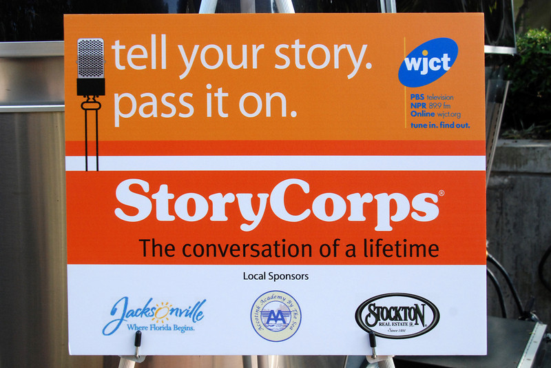 During StoryCorps' four-week stay, facilitators will record nearly 140 interviews.
