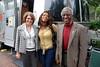 WJCT Vice President of Development Geri Cirillo, Toni Yates, Alton Yates