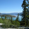 Klondike Hwy Northbound - Bove Island near Carcross