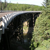 "Kiskatinaw Bridge viewed from the ""South"" end"