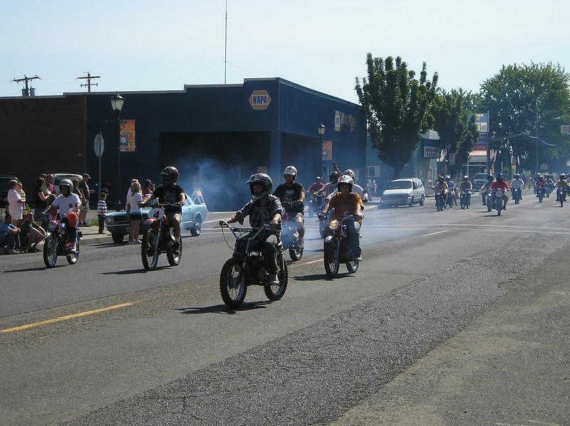 Hodaka Parade, Athena, OR