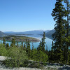 The 90 mile trip between Whitehorse, YT and Skagway, AK is just jam packed with stunning scenery. This is Bove Island near Carcross, YT