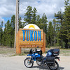Arrriving in the Yukon Territory really makes one feel very far from home.