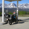 Even the gas stops along the Alaska Highway often offer incredible vistas. This stop was in Haines Junction, YT. on June 3, 2009.