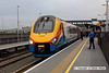 090126-005     East Midlands Trains class 222, meridian unit no. 222007 calls at East Midlands Parkway with the 09.18 Derby - London St Pancras..<br /> .