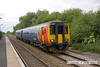 090603-004     East Midlands Trains class 156 unit no. 156401 is seen arriving at Thurgaton with the 12.25 Leicester - Lincoln Central.
