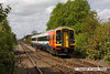 090502-006     East Midlands Trains refurbished class 158 unit no. 158783 is seen speeding through Bingham with the 08.52 Liverpool Lime Street - Norwich.