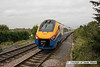 090914-026     East Midlands Trains meridian unit no 222020 approaching Long Eaton with the 10.18 Derby-London St Pancras.