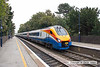 090914-021     East Midlands Trains class 222, meridian units no 222019 & 222011, seen passing through Long Eaton with the 08.55 London St Pancras-Sheffield.