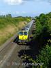 225 runs towards Portarlington with the 1800 Heuston - Cork. Tues 04.08.09
