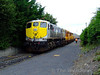 It was a busy period at Portlaoise Per-Way yard as 073 then proceeded to shunt the relaying train. Thurs 13.08.09