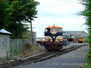 A short time later 077 shunts two wagons of its train at Portlaoise Per Way depot. Thurs 13.08.09