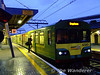Unit 8120 leads the 1600 Howth - Greystones at Connolly. Sat 05.12.09