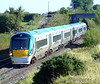 22037 at Rosskelton with the 0945 Heuston - Limerick empty. Sun 20.09.09