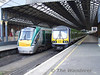 After having some lunch we find 22029 + 22020 and 29016 in Connolly awaiting their next turn of duty. Thurs 05.03.09