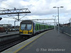 29011 arrives at Connolly with the 1335 Drogheda - Pearse service. Thurs 05.03.09