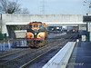 078 rushes through Clondalkin / Fonthill en route to Inchicore, possibly from Kildare. Thurs 05.03.09
