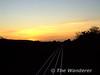 Sunset over Portarlington. Sat 13.09.09