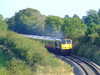 207 rounds the curve at Cloncoher with the 1615 Heuston - Ballina. Fri 11.09.09