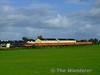 230 on the outskirts of Portarlington with the 1615 Heuston - Ballina, 8 MKIII Citygold. Fri 04.09.09