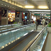 moving sidewalks from Gate 31 to Duty Free Shop and Sushi Bar