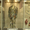 display of clothes made of paper