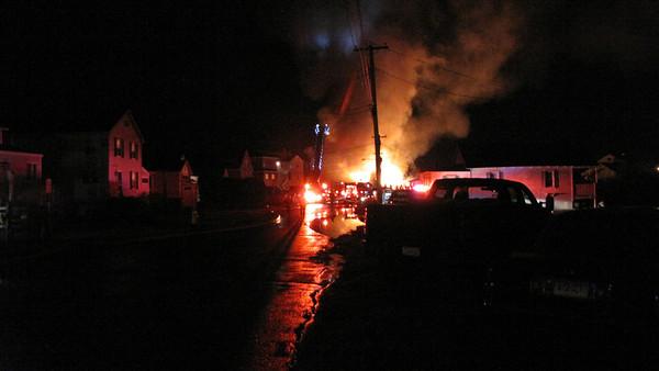 12/10/2011 Beach Rd West Chalker Beach Structure Fires