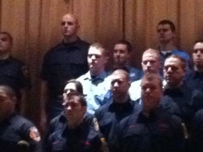 12/22/2011 Firefighter David Skau Class #48 CT Fire Academy