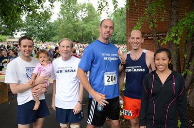 Striders At Bel Air Town Run 5k