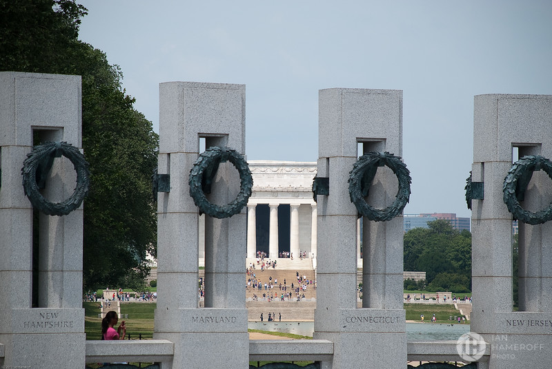 Lincoln Through Memorial