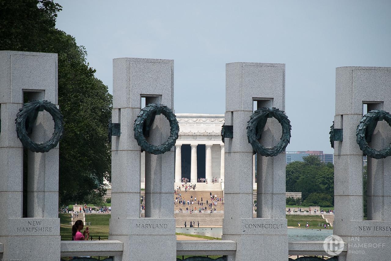 Lincoln Through Memorial