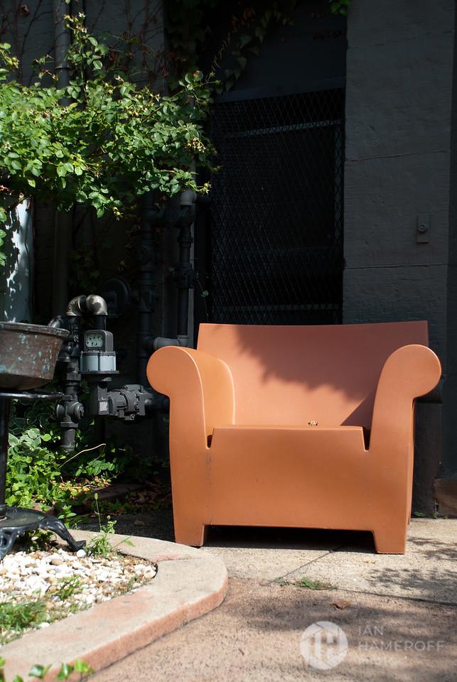 Chair on N Street